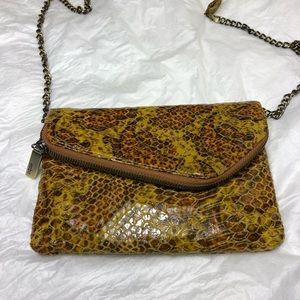 Hobo The Original Snakeskin Crossbody Bag